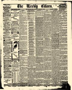 Centerville Weekly Citizen, February 11, 1871, Page 1
