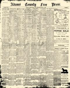 Adams County Free Press, March 01, 1900, Page 2
