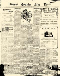 Adams County Free Press, August 23, 1900, Page 9