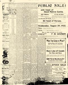 Adams County Free Press, August 23, 1900, Page 10