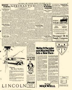 Davenport Democrat and Leader, July 06, 1924, Page 5