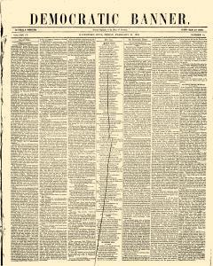 Democratic Banner, February 20, 1852, Page 1