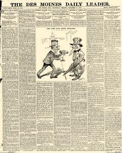 Des Moines Daily Leader, December 11, 1901, Page 1