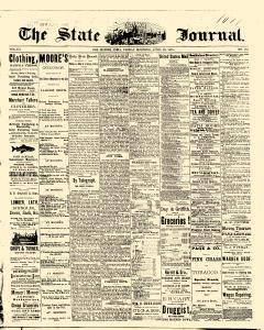 Des Moines State Iowa Journal, April 23, 1875, Page 1