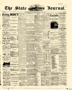 Des Moines State Iowa Journal, May 09, 1875, Page 1