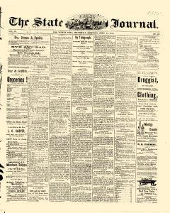 Des Moines State Iowa Journal, July 22, 1875, Page 1