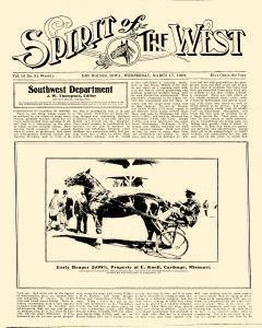 Spirit Of The West, March 17, 1909, Page 1