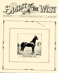 Spirit Of The West, May 12, 1909, Page 1