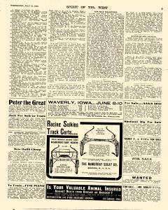 Spirit Of The West, May 12, 1909, Page 9