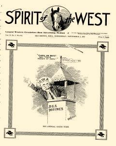 Spirit Of The West, September 02, 1914, Page 1