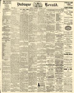 Dubuque Daily Herald, August 27, 1869, Page 1