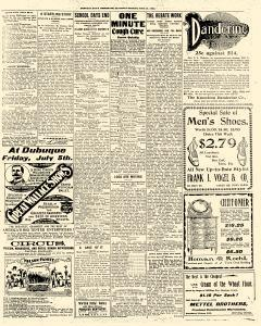 Dubuque Daily Telegraph, June 22, 1901, Page 5