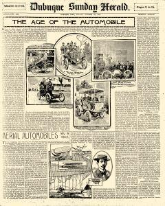 Dubuque Sunday Herald, October 28, 1900, Page 9