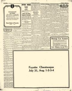 Fayette County Leader, July 06, 1922, Page 8