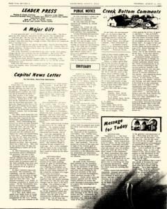 Leader Press, August 10, 1972, Page 2