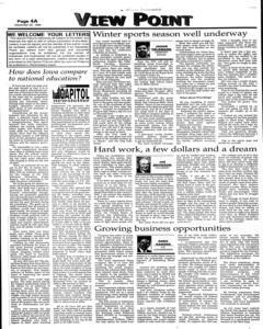 Opinion Tribune, December 22, 1999, Page 4