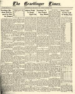 Graettinger Times, December 09, 1926, Page 1