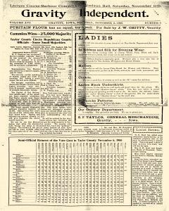 Gravity Independent, November 08, 1906, Page 9