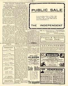 Gravity Independent, November 08, 1906, Page 12