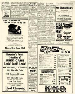 Hawarden Independent, January 18, 1951, Page 6