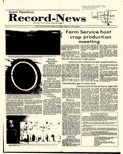 Jewell Record News, January 15, 1981, Page 1