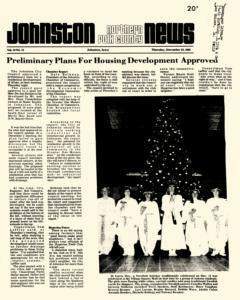 Johnston Northern Polk County News, December 23, 1982, Page 1