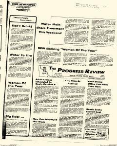 Progress Review, October 01, 1975, Page 1