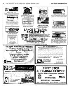 Le Mars Daily Sentinel, September 21, 2001, Page 24