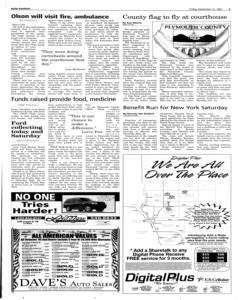 Le Mars Daily Sentinel, September 21, 2001, Page 3