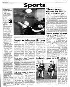 Le Mars Daily Sentinel, September 21, 2001, Page 7