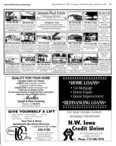 Le Mars Daily Sentinel, September 21, 2001, Page 19
