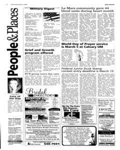 Le Mars Daily Sentinel, March 03, 2004, Page 6