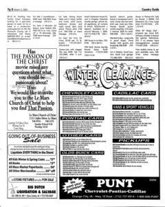 Le Mars Daily Sentinel, March 03, 2004, Page 21