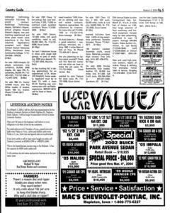 Le Mars Daily Sentinel, March 03, 2004, Page 19