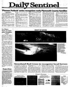 Le Mars Daily Sentinel, January 24, 2006, Page 1