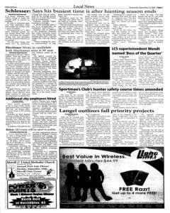 Le Mars Daily Sentinel, September 12, 2007, Page 3
