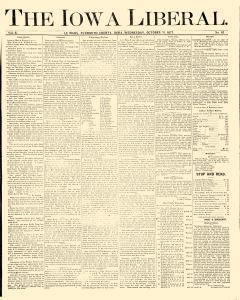 Iowa Liberal, October 31, 1877, Page 1