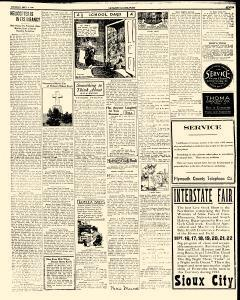 Le Mars Globe Post, September 06, 1923, Page 15