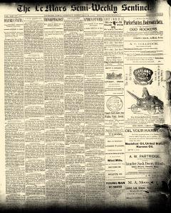 Le Mars Semi Weekly Sentinel, February 10, 1891, Page 1