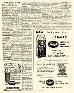 Le Mars Semi Weekly Sentinel, October 05, 1951, Page 3