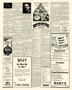 Le Mars Semi Weekly Sentinel, October 12, 1951, Page 4
