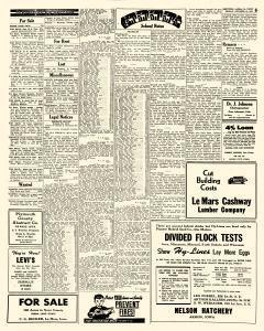 Le Mars Semi Weekly Sentinel, October 12, 1951, Page 6