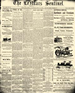 Lemars Sentinel, May 06, 1890, Page 1