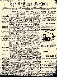 Lemars Sentinel, May 27, 1890, Page 1