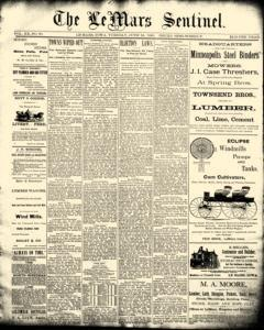 Lemars Sentinel, June 24, 1890, Page 1