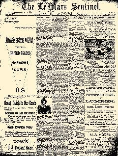 Lemars Sentinel, July 04, 1890, Page 1