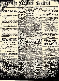 Lemars Sentinel, October 24, 1890, Page 1