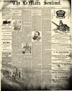 Lemars Sentinel newspaper archives