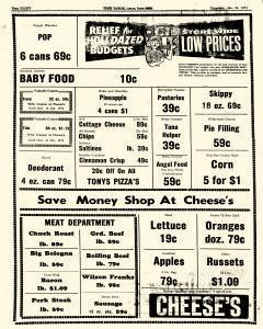 Lenox Time Table, January 10, 1974, Page 8