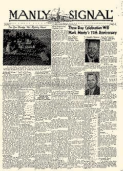 Manly Singal, August 21, 1952, Page 1